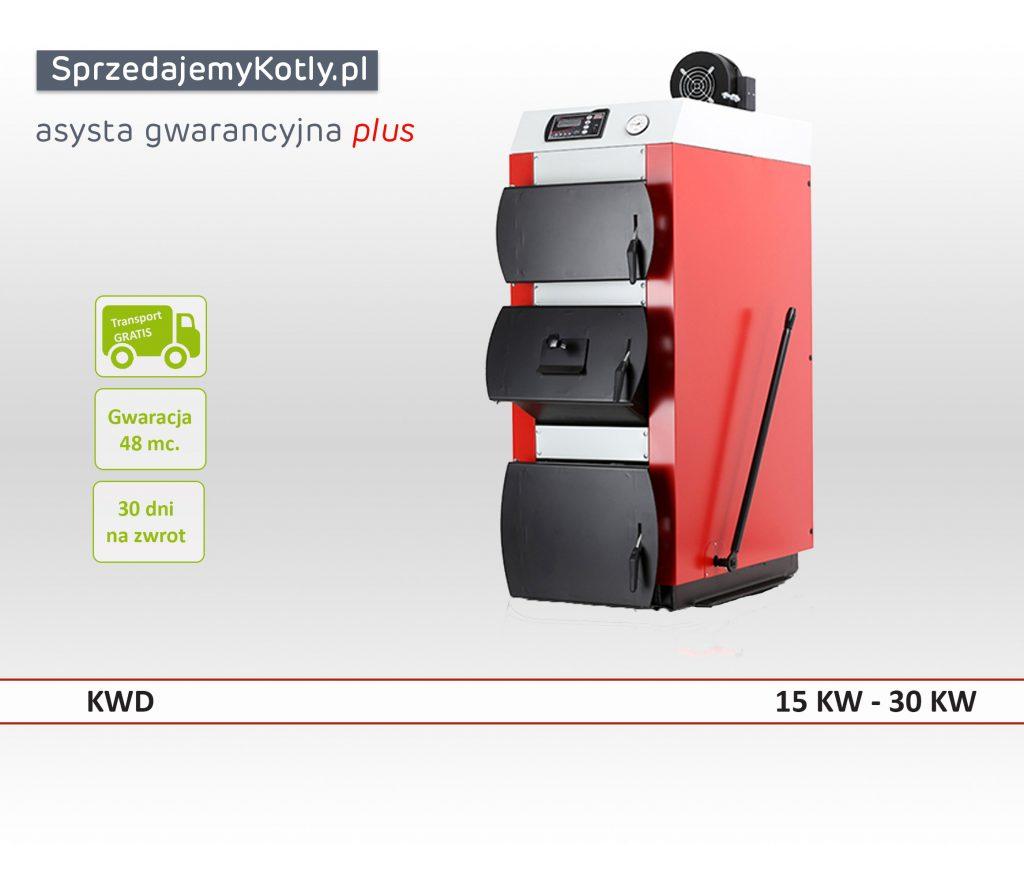 Kocioł KWD firmy kotłospaw  o mocy 15KW-30KW