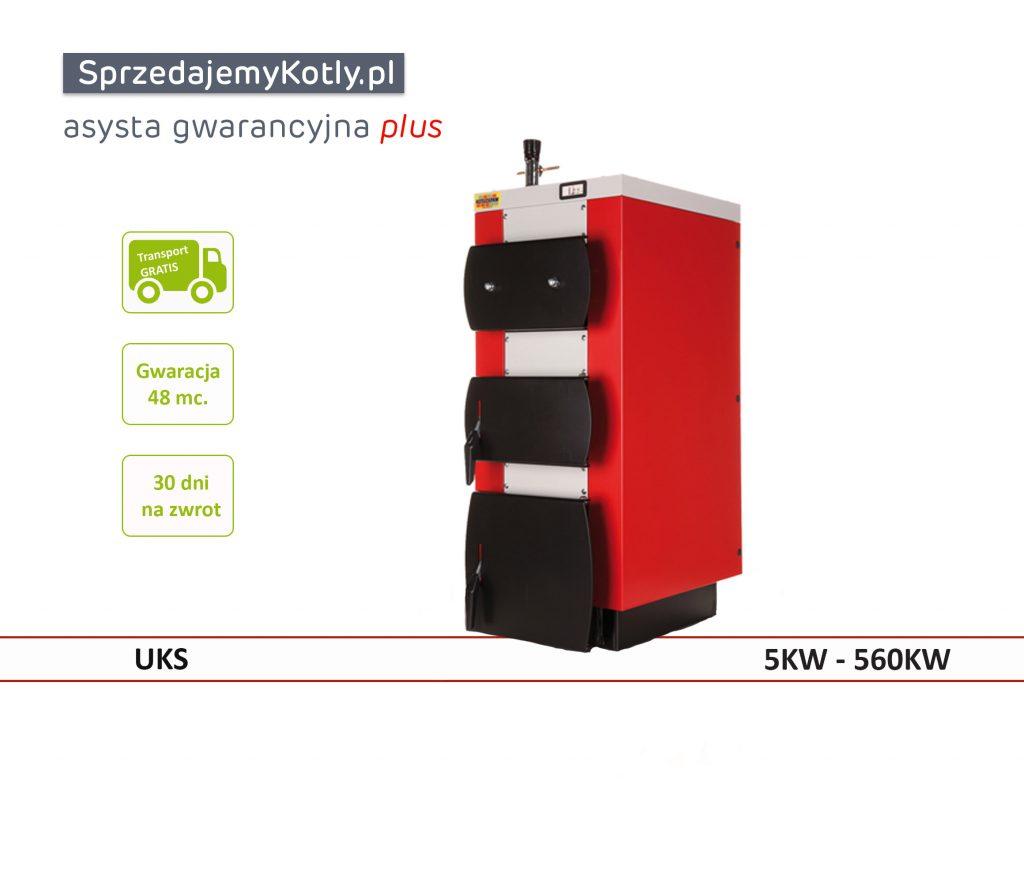 Kocioł bez nadmuchu o mocy od 5KW-560KW firmy Kotłospaw Pleszew model UKS